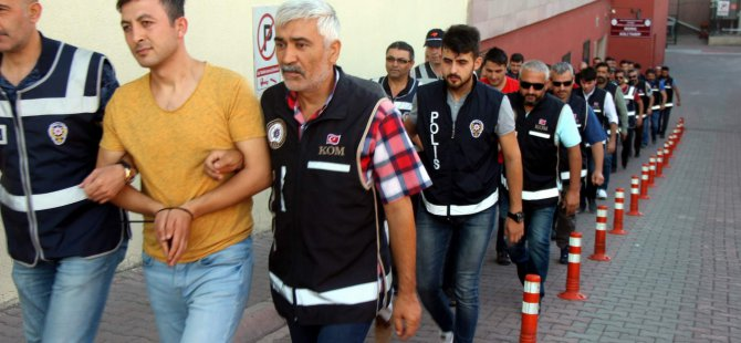 Kayseri'de FETÖ'nün askeri yapılanmasına operasyon 12 kişi adliyeye sevk edildi