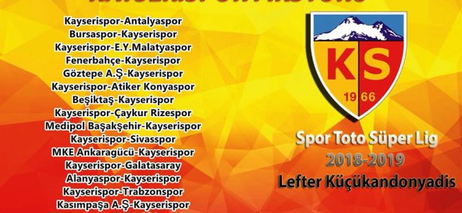 Bu sezonun Passolig rakamları ve Kayserispor'un kombine sayısı