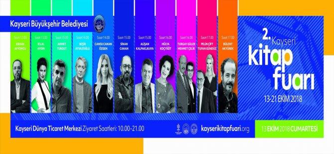 Hülya Koçyiğit Kayseri'de Kitap fuarına Geliyor