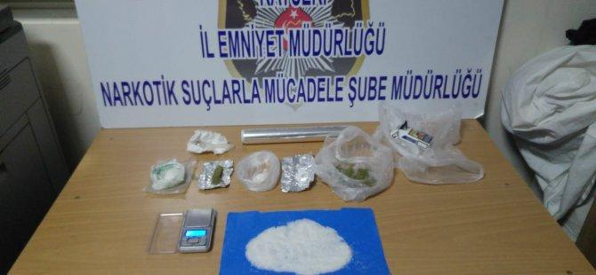 Kayseri'de uyuşturucu operasyonları: 11 gözaltı