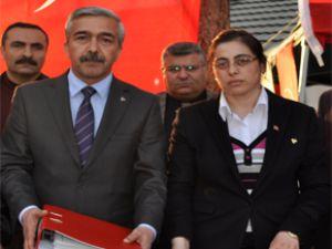 MELİKGAZİ MHP'DE 5 GÜNDE 5143 ÜYE