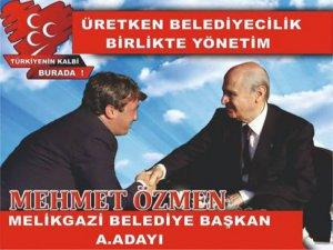 Mehmet Özmen MHP'den Melikgazi'ye aday adaylığını açıkladı