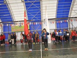 Kayseri'de Tenis Ligi törenle başladı