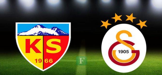 Kayserispor-Galatasaray maçı bileti fiyatları belli oldu