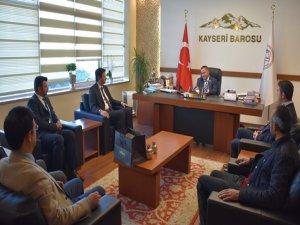 Kayseri Saadet Partisinden Baroya Ziyaret