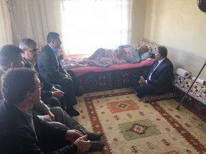 Başkan Cabbar Sindelhöyük Mahallesinde hasta ve taziye ziyaretlerinde bulundu