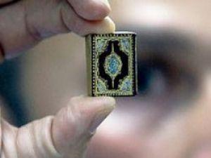 İşte Dünyanın En Küçük Kur'an-ı Kerim'i!
