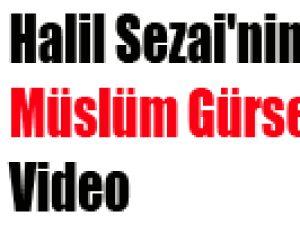 Halil Sezai'nin Müslüm Gürses Şarkısı-Video