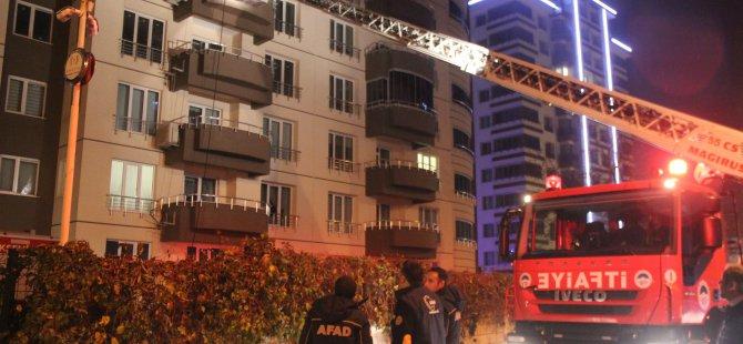 Köşk mahallesi'nde yangın: 8 kişi hastaneye kaldırıldı