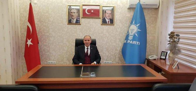 Ak Parti Kocasinan İlçe Başkanı Muammer Kılıç Meclis üyeliği için istifa etti