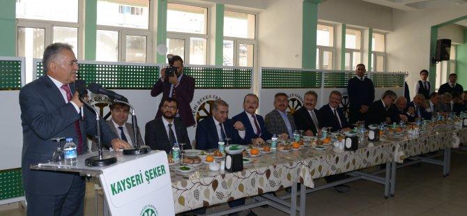 """Başkan Akay:""""Büyükkılıç Türkiye'de belediyeciliğin duayenlerinden"""""""