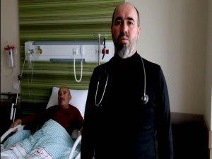 Kayseri Şehir Hastanesinde ameliyat olan Ali Çay yaptığı açıklamada: