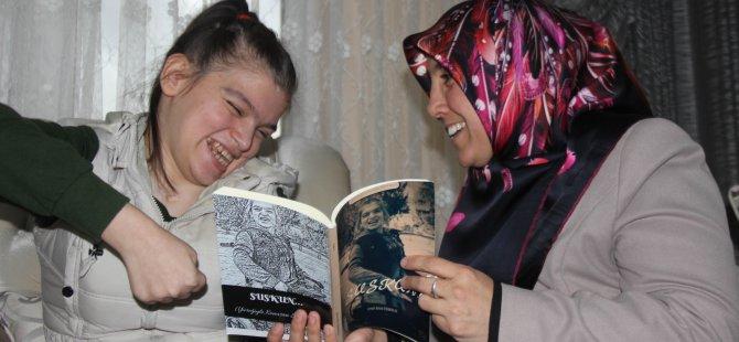 Kayserili Büşra yazdığı kitabı Erdoğan'a hediye etmek istiyor