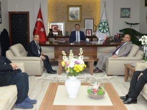 Kayseri Ticaret Borsası'ndan Başkan Akay'a ziyaret