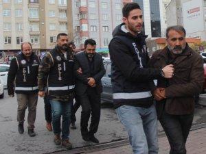 Kayseri'de çek senet örgüt üyeleri adliyeye sevk edildi