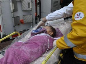 Fevzi çakmak'ta 13 Aylık Bebek vida yuttu
