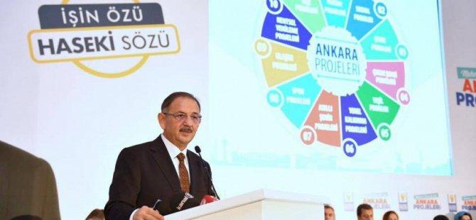 Özhaseki: Kayseri'de söz verip de yapmadığım vaadim olmadı