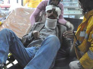 Kayseri'de Nöbet Geçiren Adam Hastanelik Oldu