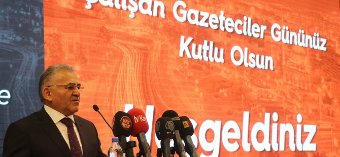 """Başkan Büyükkılıç: """"Kayseri'nin güzel insanlarına güveniyorum"""""""