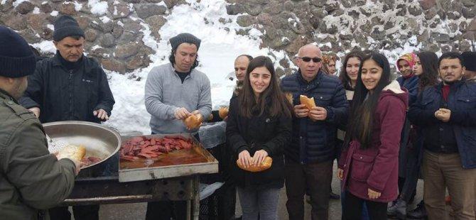 Eğitim-Bir-Sen'liler Erciyes Kayak Merkezi'nde buluştu