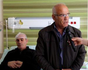 12 ay ömür biçilen hasta Kayseri Şehir Hastanesinde iyileşti