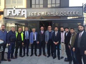 FUFA ICE CREAM & COFFEE HİZMETE AÇILDI