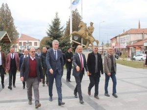 MHP İL BAŞKANI TOK FELAHİYE'DE