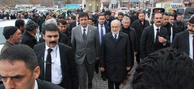 """Karamollaoğlu: """"mevcut iktidarın yoldan çıktığı söyledi"""""""