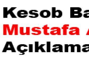 Kesob Başkanı Mustafa Alan Açıklaması