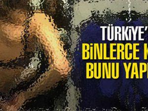 Türkiye'de bir çok kadının kamera önünde soyunarak para kazandığı ortaya çıktı