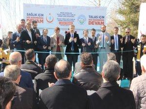 Talas 3 Nolu Acil Sağlık Hizmetleri İstasyonu açıldı