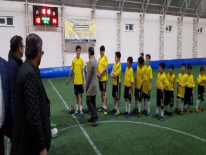 Geleceğin futbolcuları Hacılar'da yetişiyor