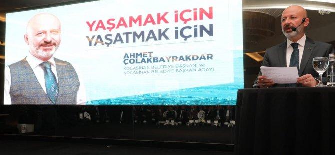 Başkan Çolakbayrakdar Kocasinan İçin 52 Dev Proje Açıkladı