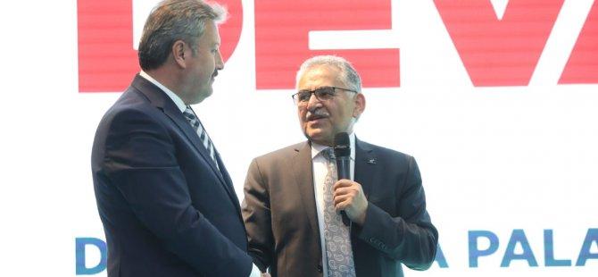 """Başkan Palancıoğlu: """"Birlik ve beraberlik içerisinde çalışacağız"""""""