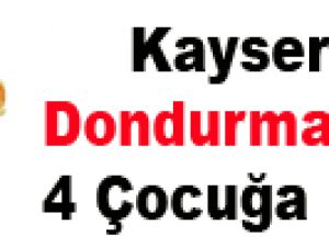 Kayseri'de Dondurma Çalan: 4 Çocuğa Gözaltı