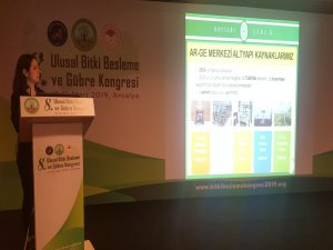 Bitki Beslenme ve Gübre Kongresine Kayseri Şeker'den Proje Desteği