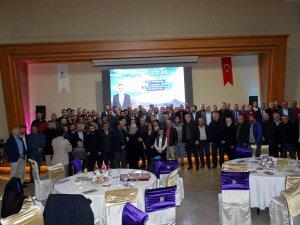 İstanbul'daki Develilerden Başkan Cabbar'a tam destek