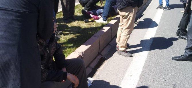 Kayseri'de Feci Kaza Ucuz Atlatıldı: 2 Yaralı