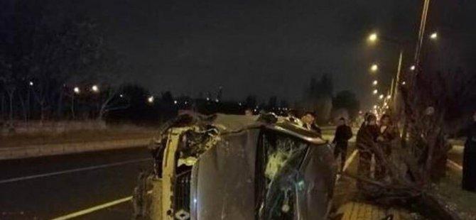 Erkilet'te Trafik Kazası: 3 yaralı
