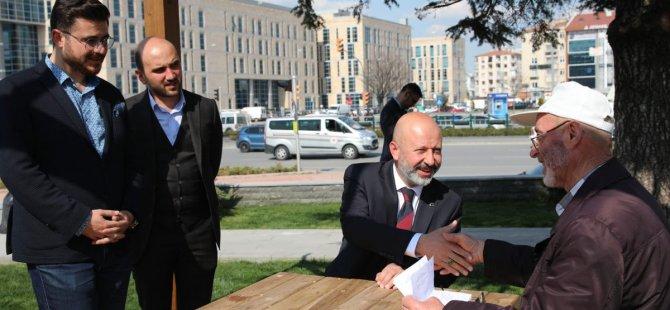 """Çolakbayrakdar, """"Yaşam alanı, Kayseri'nin görünen yüzü olacak"""""""