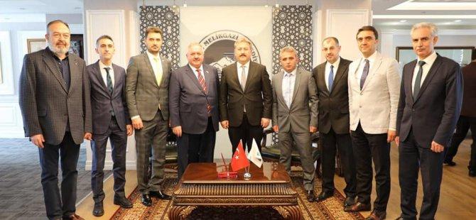 Başkan Nursaçan,Palancıoğlu'nu ziyaret etti