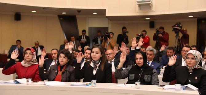 Kocasinan'da Meclis Dağılımı Görevi Yapıldı