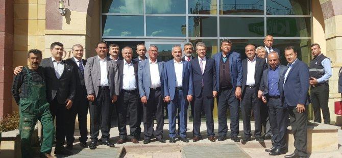 Başkan Akay'dan Boğazlıyan Belediye Başkanlarına Ziyaret