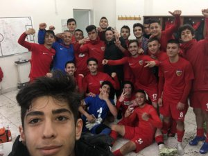 Kayserispor U17 takımı Beşiktaş'ı 2-1 Mağlup etti