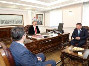 Kayseri Barosundan Başkan palancıoğlu'na Ziyaret