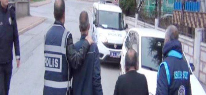 Kayseri'de hapis cezası bulunan 23 kişi de gözaltına alındı