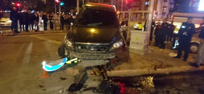 Talas Bahçelievler'de Feci Kaza: 9 Yaralı