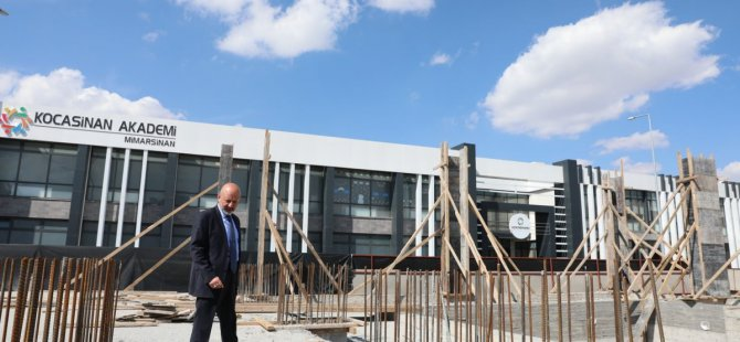Başkan Çolakbayrakdar Mimarsinan'a bir tesis daha kazandırıyor