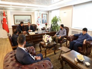 Başkan Dr. Mustafa Palancıoğlu'na TÜGVA'dan Ziyaret