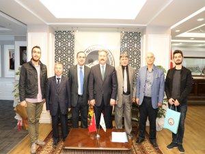 """Palancıoğlu """"Özellikle sivil toplum kuruluşlarının ziyaretleri çalışmalara şevk ve heyecan katmaktadır """""""